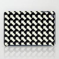 White Arrows iPad Case