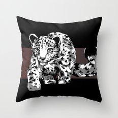 Snow Safari Throw Pillow