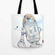 R2 and His Baby Sloth Tote Bag
