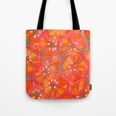 Watercolor Oranges Tote Bag