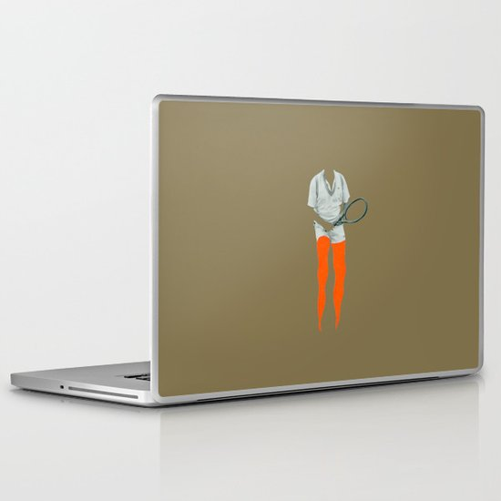 Dennis Tennis Laptop & iPad Skin