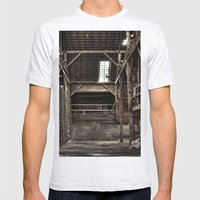 Old Mill Mens Fitted Tee Ash Grey SMALL