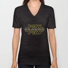 Pew Pew v2 Unisex V-Neck