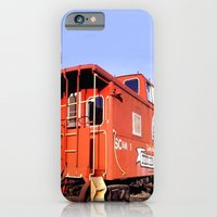 iPhone & iPod Case featuring Lil Red Caboose -Wellsboro Ave Hurley ArtRave by ArtRaveSuperCenter: Ave Hurley Illustrat