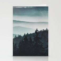 Mountain Light Stationery Cards