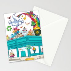 Kawaii Universe Studio Logo  Stationery Cards