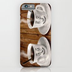 Hot Coffee Time in the Kitchen Slim Case iPhone 6s