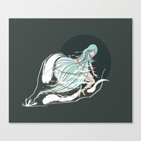 fly. Canvas Print