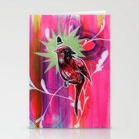 Dapper Cardinal Is Dappe… Stationery Cards