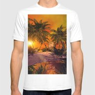 T-shirt featuring The Little Island by Nicky2342