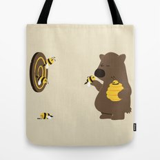 Bee game Tote Bag