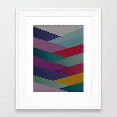 Shape series 6 Framed Art Print