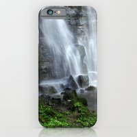 Waterfall at Swallet Falls iPhone 6 Slim Case