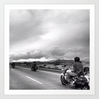 Desert Ride, Nevada Art Print