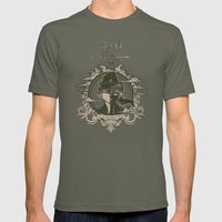 Legend Of Zelda Link The… Mens Fitted Tee Lieutenant SMALL