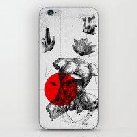 The Body iPhone & iPod Skin
