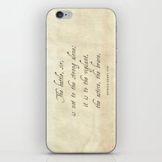 The Battle by Patrick Henry iPhone & iPod Skin