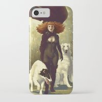 dogs iPhone & iPod Cases featuring Dogs by Kelly Perry