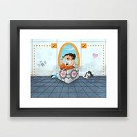 Cake Break Framed Art Print