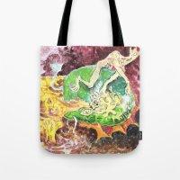 A Strange Meeting Tote Bag