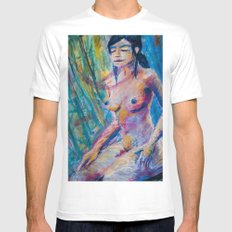 The High Priestess SMALL Mens Fitted Tee White