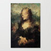 Panelscape Iconic - Mona… Canvas Print