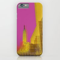 iPhone & iPod Case featuring PINK NYC by IamDesigner