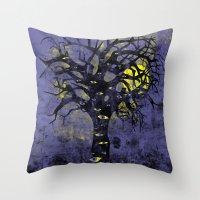 The Vison Tree Throw Pillow
