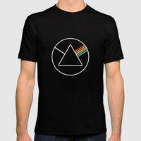 Dark Side Mens Fitted Tee Black SMALL