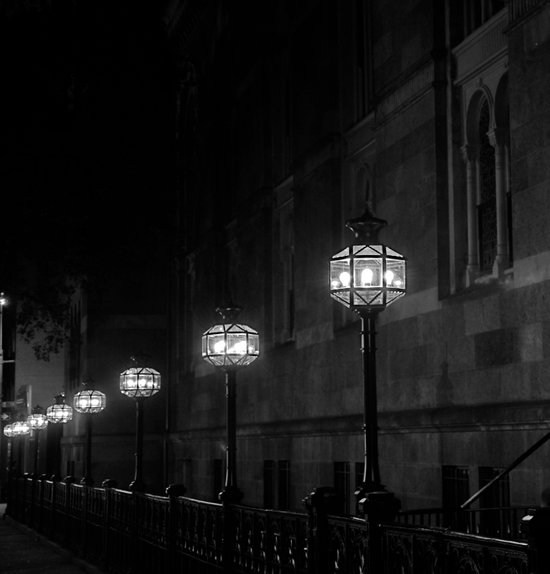 Late Night Lights Art Print
