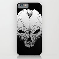 iPhone & iPod Case featuring Skull. Just skull.  by InvaderDig