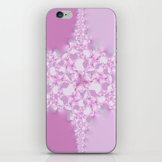 Floral Star  iPhone & iPod Skin