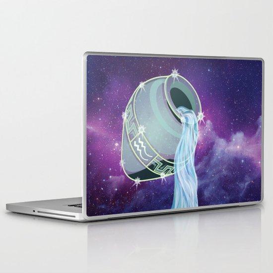 Aquarius Laptop & iPad Skin