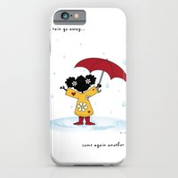 Rain, Rain Go Away... Come Again Another Day... iPhone 6 Slim Case