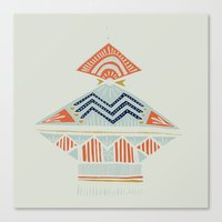 Pyramids 2 Canvas Print