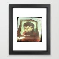 TheKing Framed Art Print