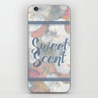 The Sweet Scent of Spring iPhone & iPod Skin