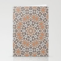 Flower Symmetry  Stationery Cards