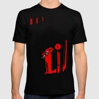 The Masque Of The Red De… Mens Fitted Tee Black SMALL