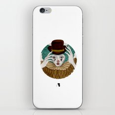 Pierrot...Pierrette iPhone & iPod Skin