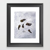untitled (dead things 07) Framed Art Print