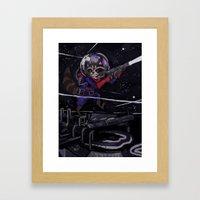 Rocket Raccoon  Framed Art Print