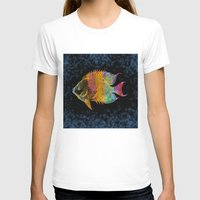 fish T-shirts featuring  Fish by Vitta