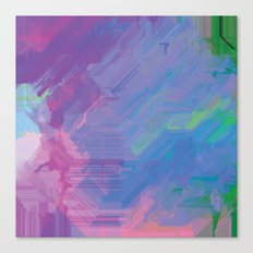 Glitchy 2 Canvas Print