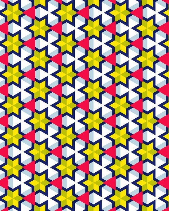 Krijgsman Pattern Art Print