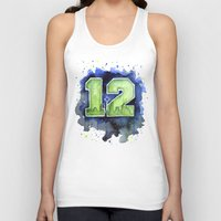 12th Man Seahawks Seattl… Unisex Tank Top