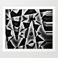 Chip on your Shoulder Art Print