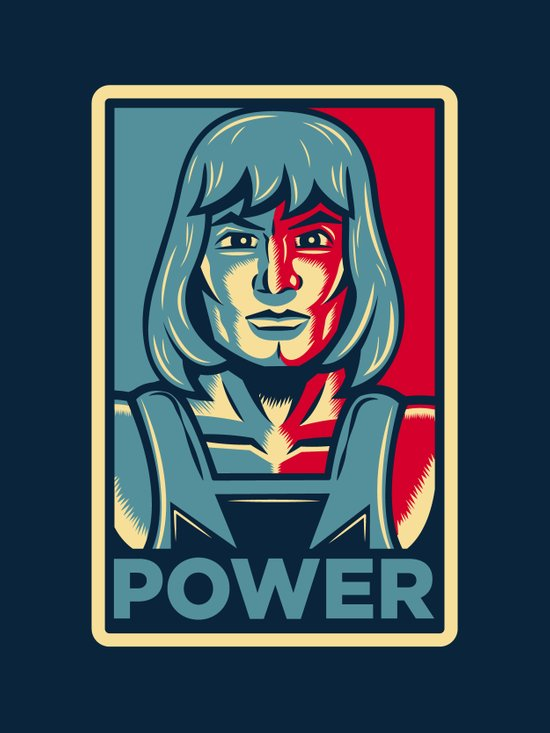 Power....he has it! Art Print