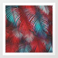 Tropical Tremolo Art Print