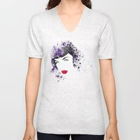 Queen Of Pin-Up Unisex V-Neck